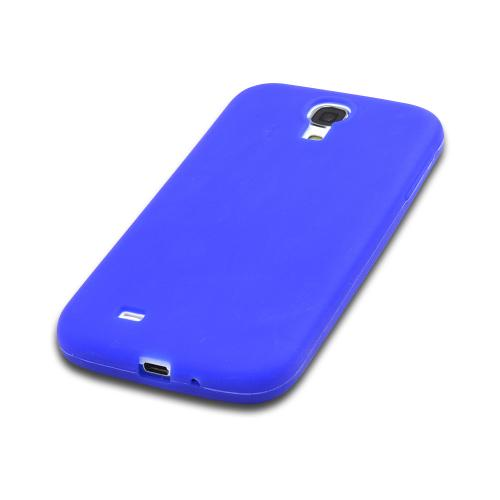 Blue Silicone Case for Samsung Galaxy S4