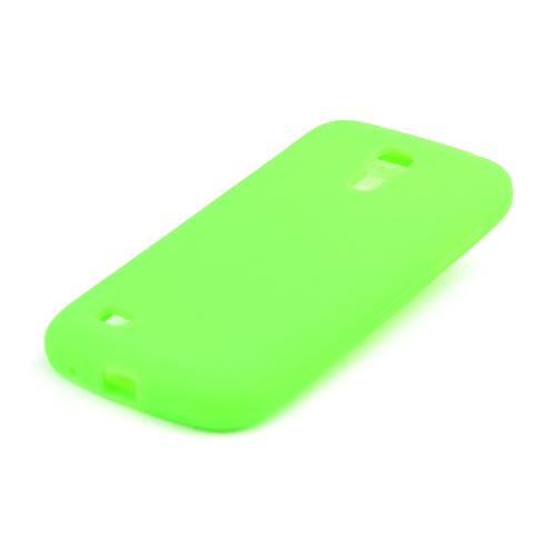Neon Green Silicone Skin Case for Samsung Galaxy S4 Mini