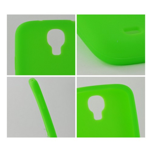 Neon Green Silicone Case for Samsung Galaxy S4