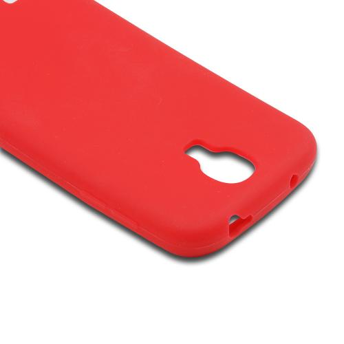 Red Silicone Case for Samsung Galaxy S4