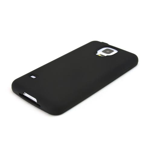 Black Silicone Skin Case for Samsung Galaxy S5