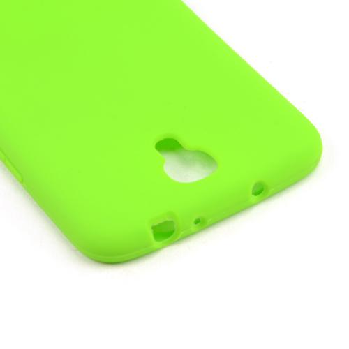 Neon Green Silicone Skin Case for Samsung Galaxy Mega 6.3