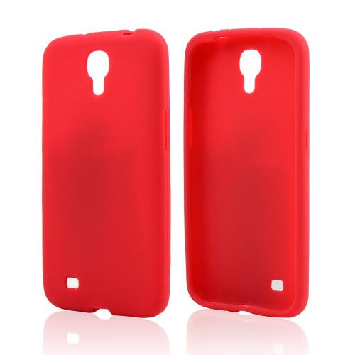 Red Silicone Skin Case for Samsung Galaxy Mega 6.3