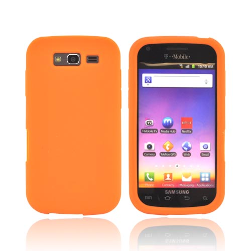 Samsung Galaxy S Blaze 4G Silicone Case - Orange