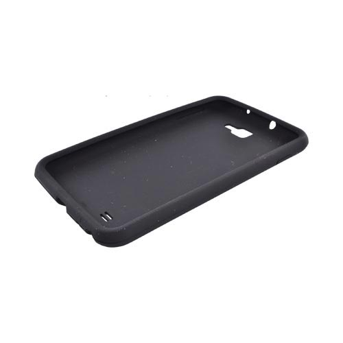 Samsung Galaxy Note Silicone Case - Black