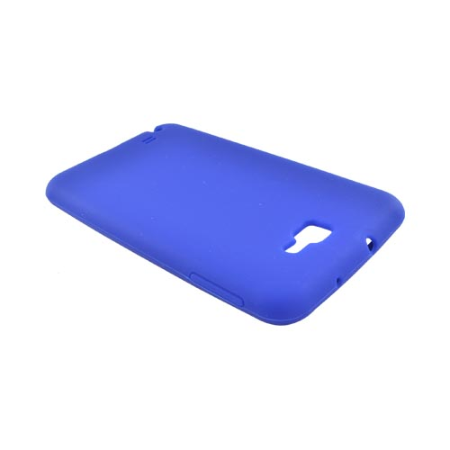 Samsung Galaxy Note Silicone Case - Blue