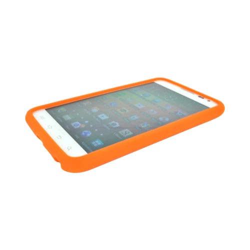 Samsung Galaxy Note Silicone Case - Orange
