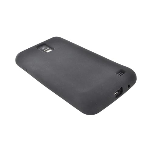 Samsung Galaxy S2 Skyrocket Silicone Case - Black