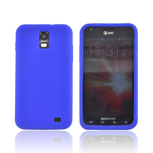 Samsung Galaxy S2 Skyrocket Silicone Case - Blue