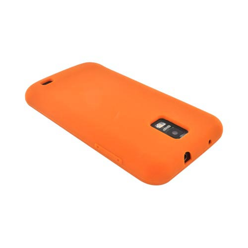 Samsung Galaxy S2 Skyrocket Silicone Case - Orange