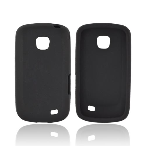 Samsung Illusion i110 Silicone Case - Black