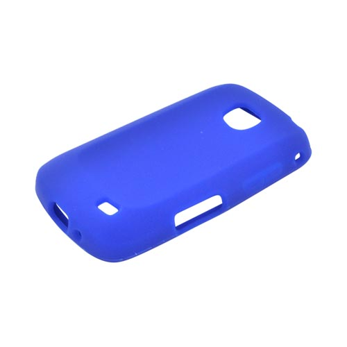 Samsung Illusion i110 Silicone Case - Blue