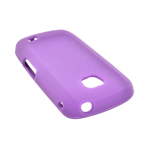 Samsung Illusion i110 Silicone Case - Purple