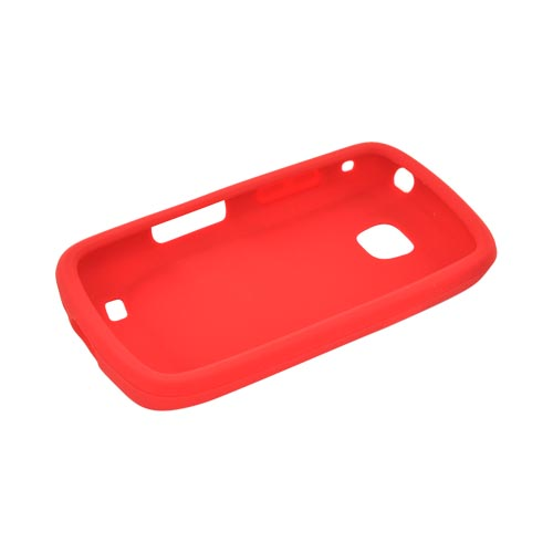 Samsung Illusion i110 Silicone Case - Red