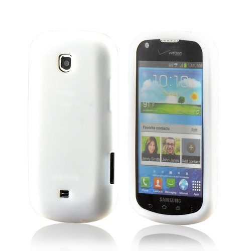 Samsung Frost White Silicone Case For Galaxy Stellar