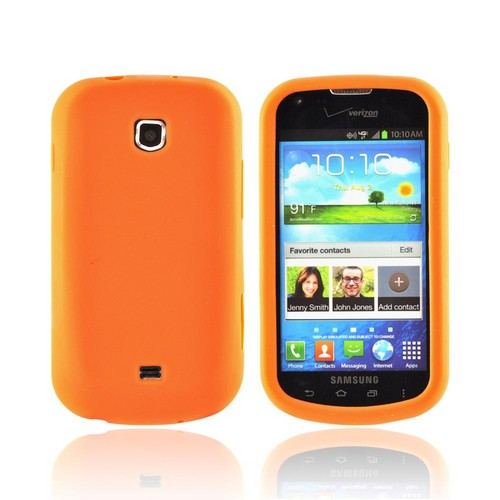 Samsung Galaxy Stellar Silicone Case - Orange