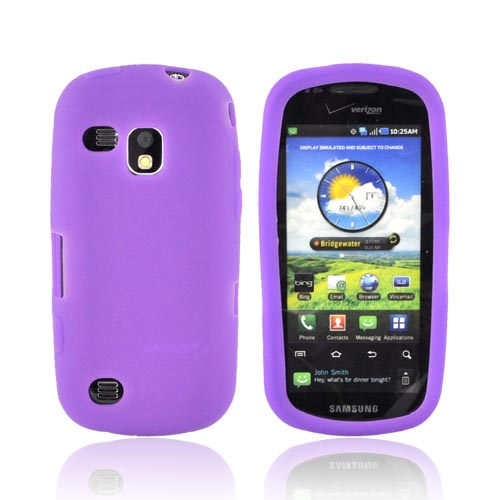 Samsung Continuum i400 Silicone Case - Purple