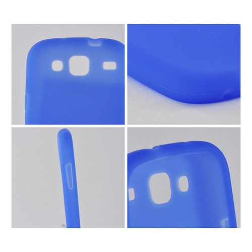 Blue Silicone Case for Samsung Stratosphere 3
