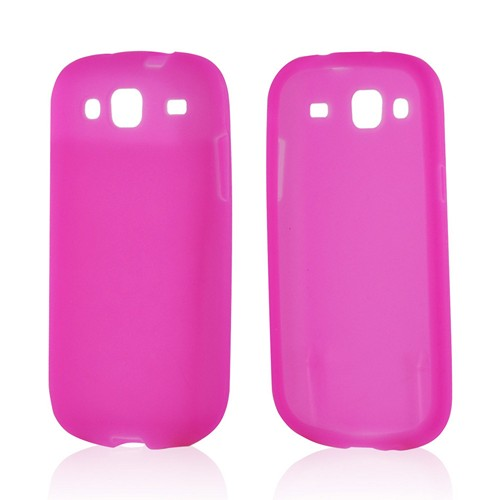 Hot Pink Silicone Case for Samsung Stratosphere 3