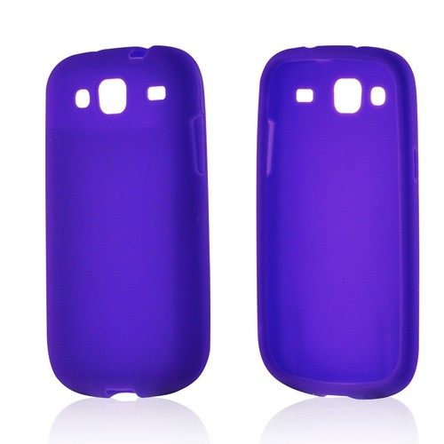 Purple Silicone Case for Samsung Stratosphere 3