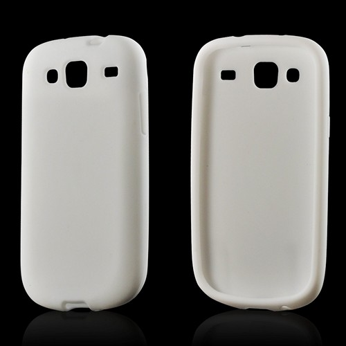 Solid White Silicone Case for Samsung Stratosphere 3