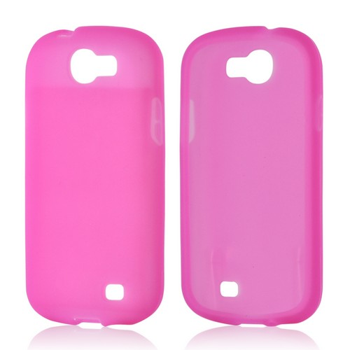 Hot Pink Silicone Case for Samsung Galaxy Express