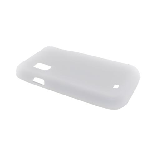 Samsung Fascinate i500 Silicone Case - Frost White
