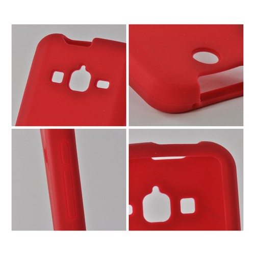 Red Silicone Case for Samsung Galaxy Rugby Pro