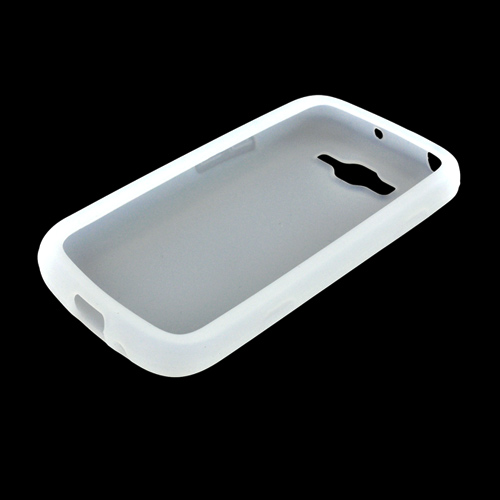 Samsung Focus 2 Silicone Case - Frost White