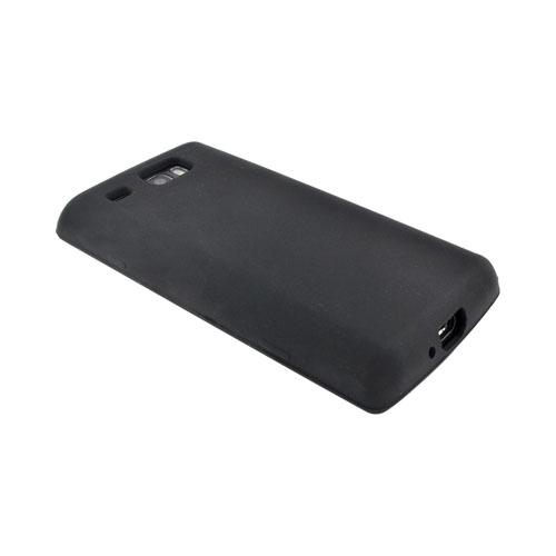 Samsung Focus Flash i677 Silicone Case - Black