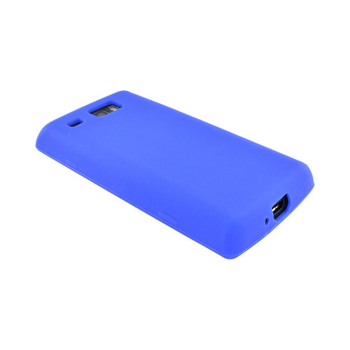 Samsung Focus Flash i677 Silicone Case - Blue