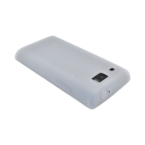 Samsung Focus Flash i677 Silicone Case - Frost White