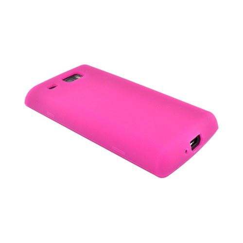 Samsung Focus Flash i677 Silicone Case - Hot Pink