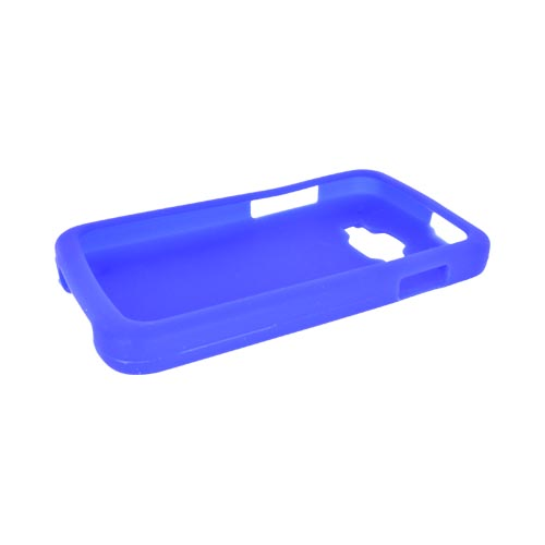Samsung Rugby Smart i847 Silicone Case - Blue