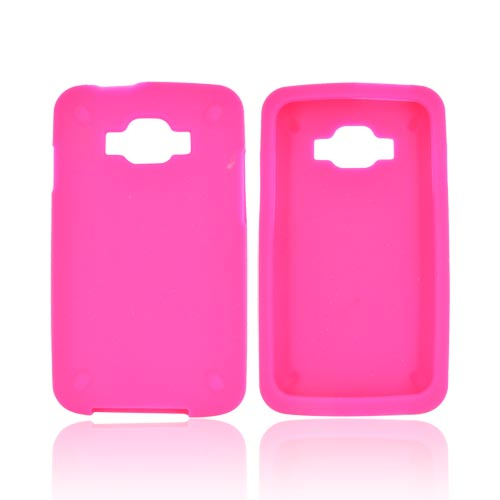 Samsung Rugby Smart i847 Silicone Case - Hot Pink