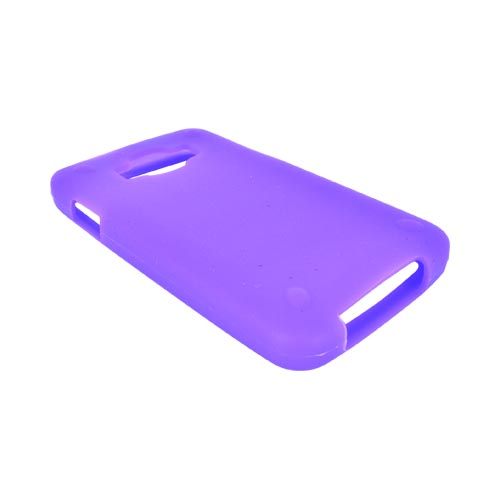 Samsung Rugby Smart i847 Silicone Case - Purple