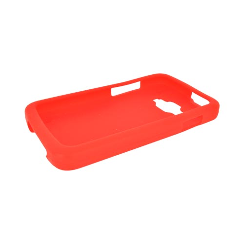 Samsung Rugby Smart i847 Silicone Case - Red