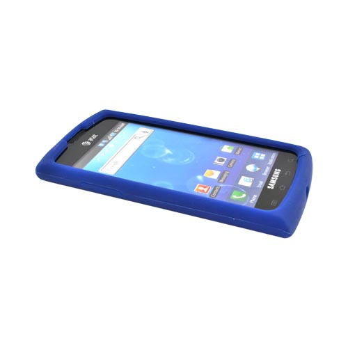 Luxmo Samsung Captivate i897 Silicone Case - Blue