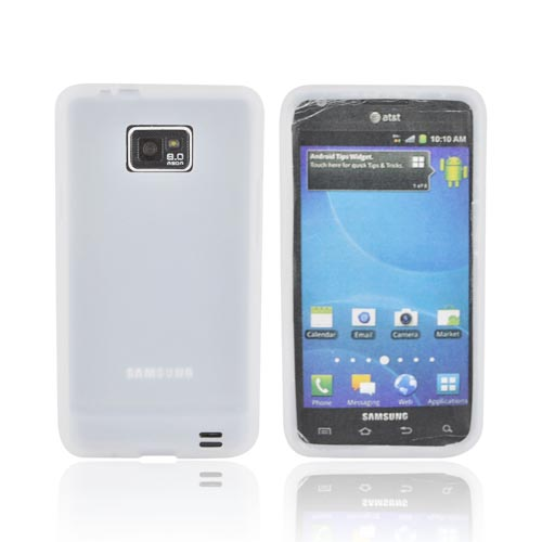 AT&T Samsung Galaxy S2 Silicone Case - Frost White