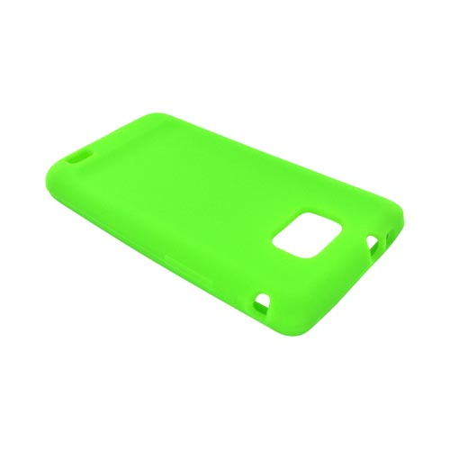 AT&T Samsung Galaxy S2 Silicone Case - Neon Green