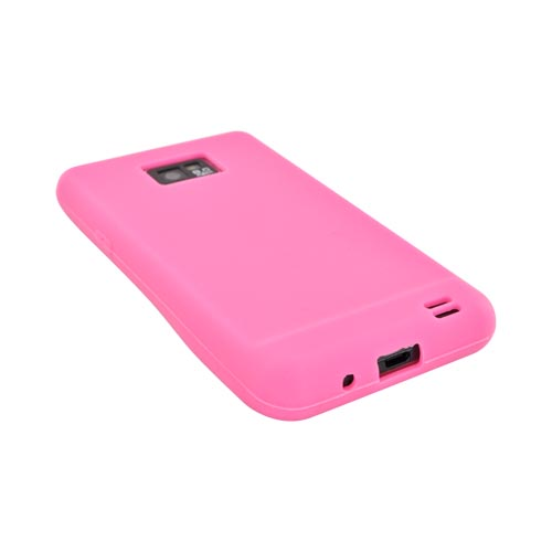 AT&T Samsung Galaxy S2 Silicone Case - Neon Pink
