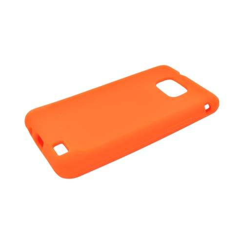 AT&T Samsung Galaxy S2 Silicone Case - Orange