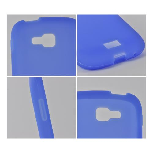 Blue Silicone Case for Samsung ATIV Odyssey
