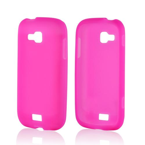 Hot Pink Silicone Case for Samsung ATIV Odyssey