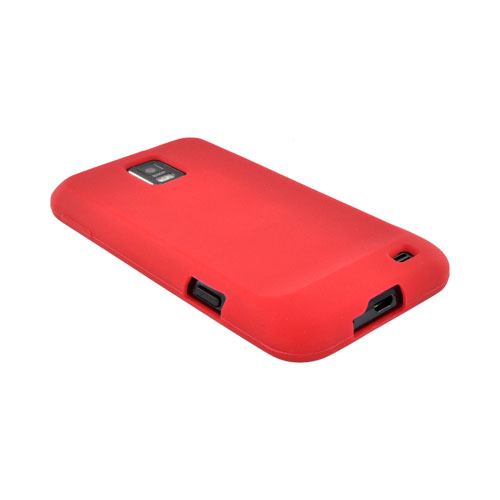 Samsung Focus S i937 Silicone Case - Red
