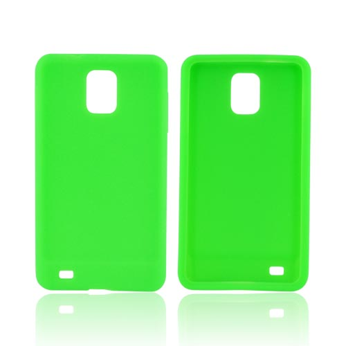 Samsung Infuse 4G Silicone Case - Neon Green