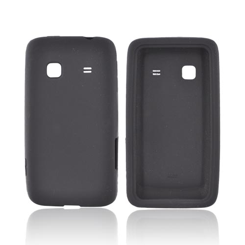 Samsung Galaxy Prevail M820 Silicone Case - Black