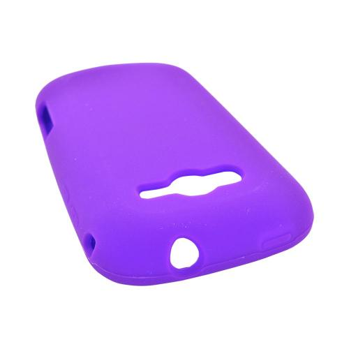Samsung Galaxy Reverb Silicone Case - Purple