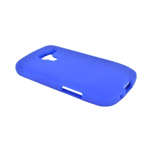 Samsung Exhilarate i577 Silicone Case - Blue