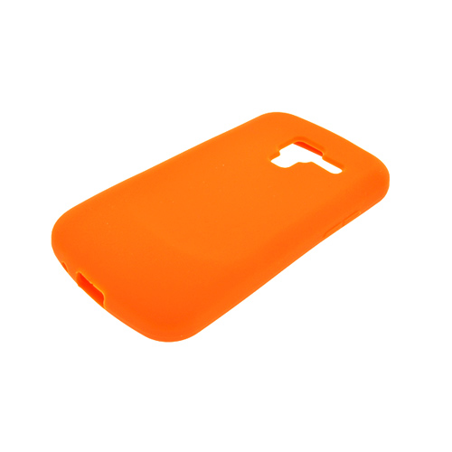 Samsung Exhilarate i577 Silicone Case - Orange
